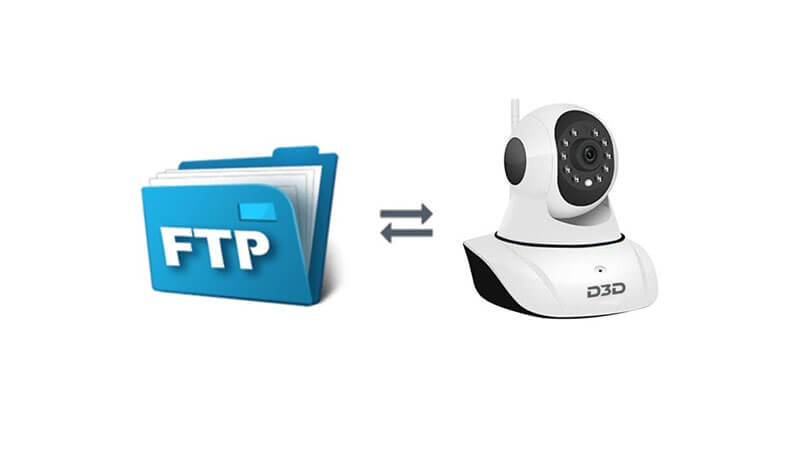 D3D D8810 1080P WiFi Home Security Camera