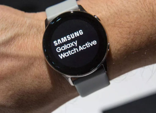 Samsung-Galaxy-Watch(Fitness tracker)