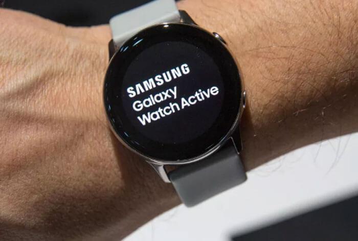 Samsung-Galaxy-Watch(Fitness tracker)