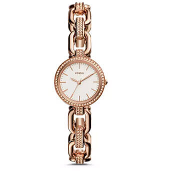Three-Hand-Rose-Gold-Crystal-Watch