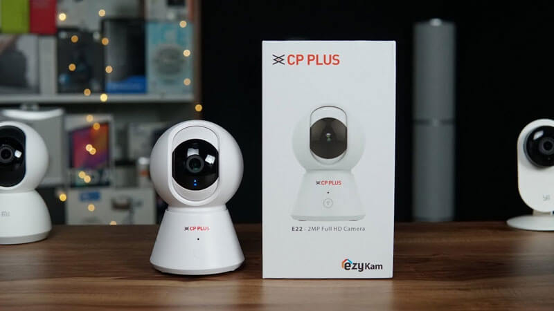 CP Plus 360° 1080P 2MP Ezykam WiFi Security Camera