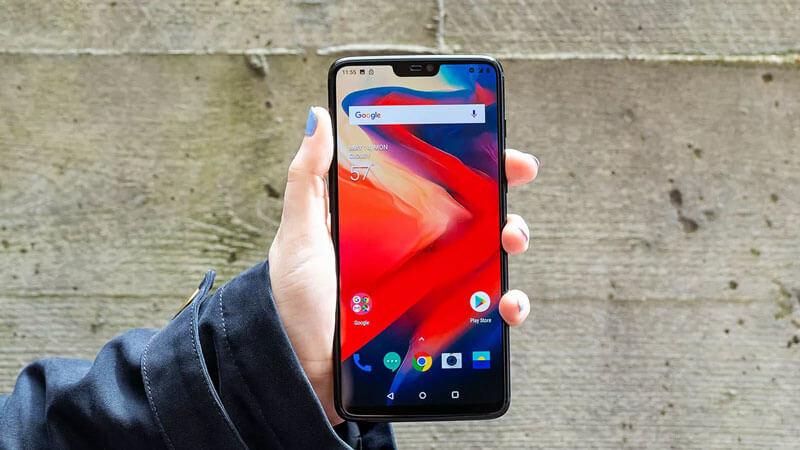 Phone-display (OnePlus 6)