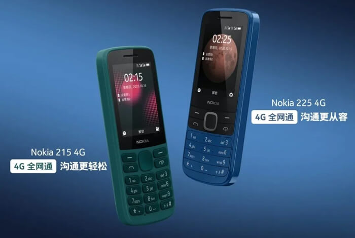 Nokia 225 and 215