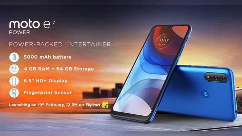 Moto E7 Power Smartphone