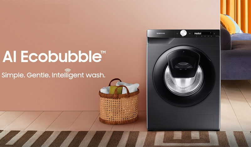 AI-enabled washing machine