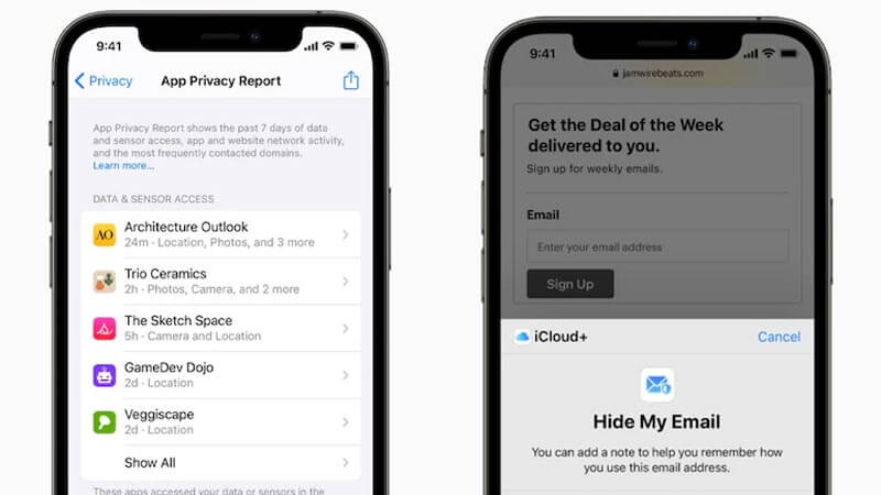 App Privacy Report Feature
